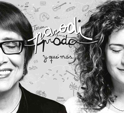 Portada del disco «Y que más» de Teresa Parodi y Ana Prada.
