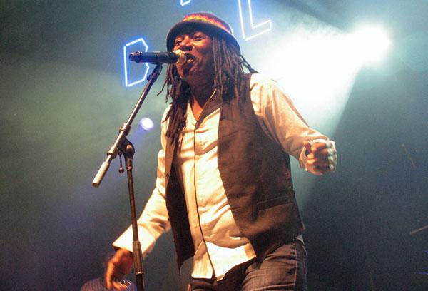 El músico de Costa de Marfil Alpha Blondy © Manel Gausachs