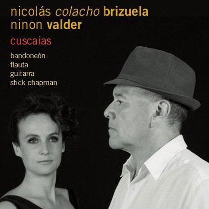 Portada del disco «Cuscaias» de Nicolás Colacho Brizuela y Ninon Valder