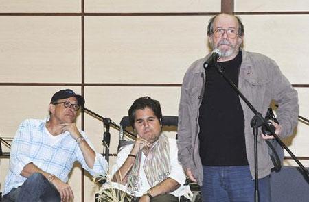 Silvio Rodríguez en la presentación de «Cancionero» en la República Dominicana.