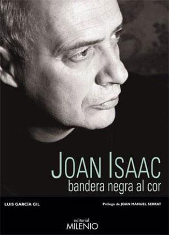 Portada del libro «Joan Isaac, bandera negra al cor» de Luis García Gil.
