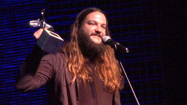 Nano Stern recoge su premio Altazor al Mejor Álbum Fusion por «Las torres de sal».