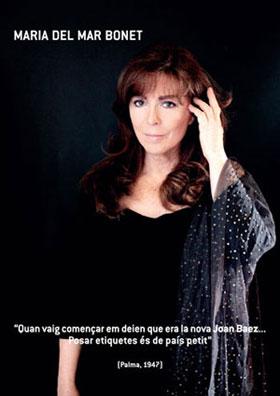 Maria del Mar Bonet: «Cuando empecé me decían que yo era la nueva Joan Baez. Poner etiquetas es de país pequeño.» © Juan Miguel Morales