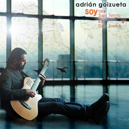 Portada del disco «Soy, de San Telmo a San José» de Adrián Goizueta.