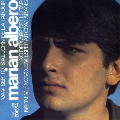 El primer disco de Marià Albero, publicado en 1967.