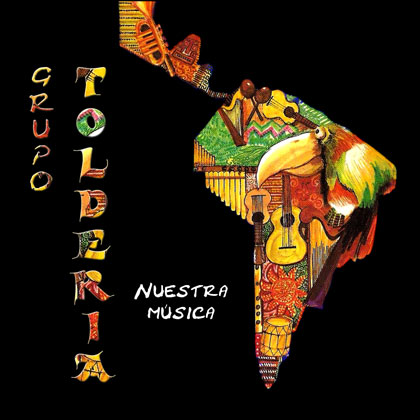 Portada del disco «Nuestra música» de Toldería.