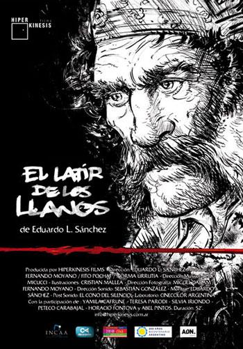 Cartel del documental «El latir de los llanos» de Eduardo Sánchez.