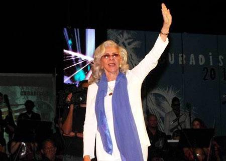 Miriam Ramos recibió el Gran Premio Cubadisco 2013 por el tríptico «La canción cubana». © Abel Rojas