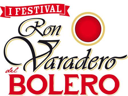 Logo del I Festival Ron Varadero del Bolero 2013