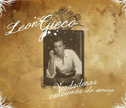 Portada del disco «Verdaderas canciones de amor» de León Gieco.