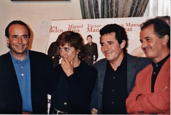 Presentación de la gira El gusto es nuestro - Ayuntamiento de Gijón (Asturias), 8 de agosto de 1996.   © Carles Gracia Escarp