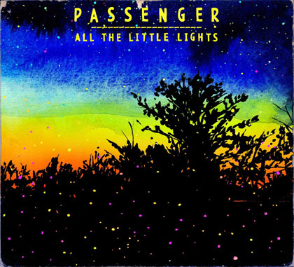 Portada del disco «All The Little Lights» de Passenger.