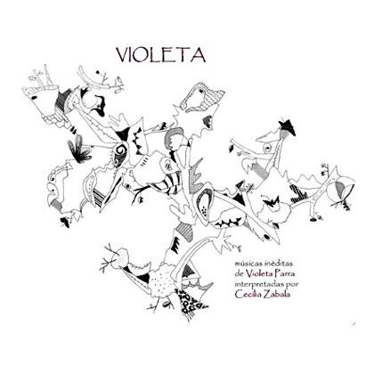 Portada del disco «Violeta» de Cecilia Zabala.