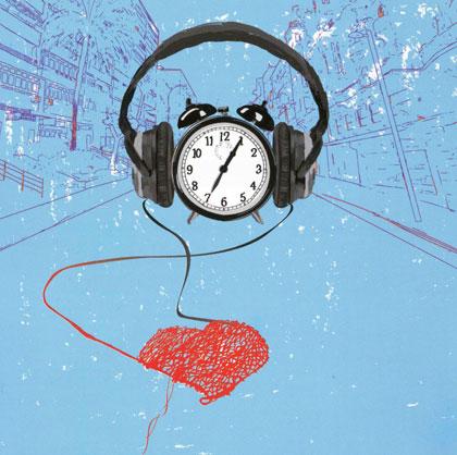 Ilustración del disco «Lo mal que estoy y lo poco que me quejo» de El Kanka. © Anabel Perujo «Pek»