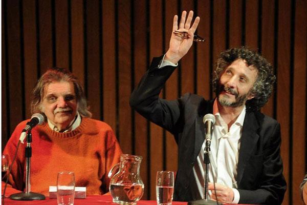 Horacio González y Fito Páez.