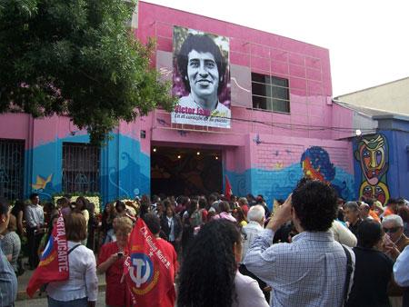 El galpón de Víctor Jara