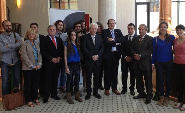 Presentación del Concierto del Centenario de Salvador Espriu.