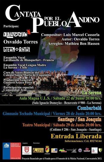 Cantata Por el Pueblo Andino