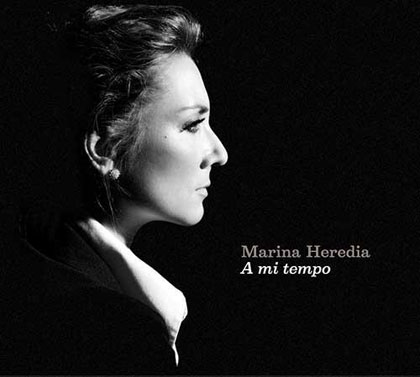 Portada del disco «Ami tempo» de Marina Heredia.