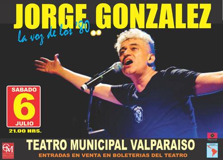 Jorge González en Valparaíso