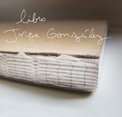 Portada del disco «Libro» de Jorge González.