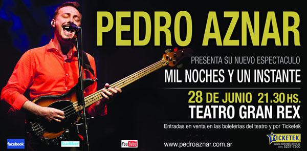 Pedro Aznar en el Gran Rex.
