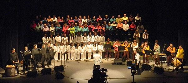 Cantata por el Pueblo Andino © Víctor Tapia
