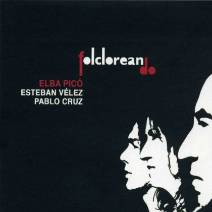 Portada del disco «Folcloreando» de Elba Picó.