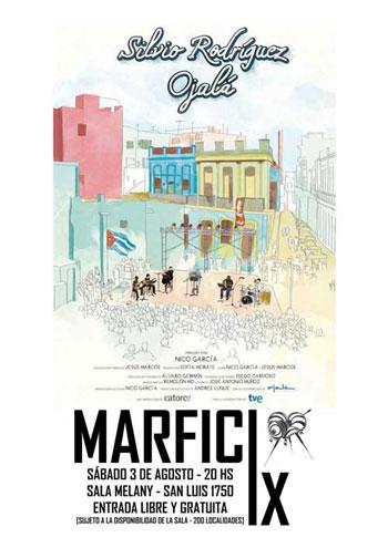 Cartel de la película «Silvio: Ojalá» de Nico García.