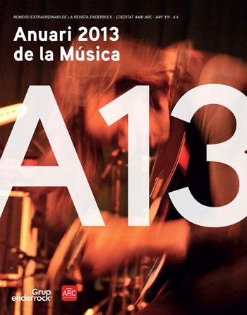 Portada del «Anuari de la Música 2013»