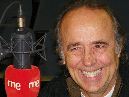Joan Manuel Serrat en el programa «Protagonistas» © RTVE/RNE