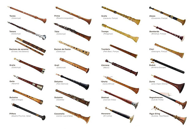 Oboes del mundo © Entarotat/CAT
