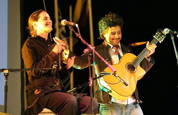 Pascuala Ilabaca y Manuel García.