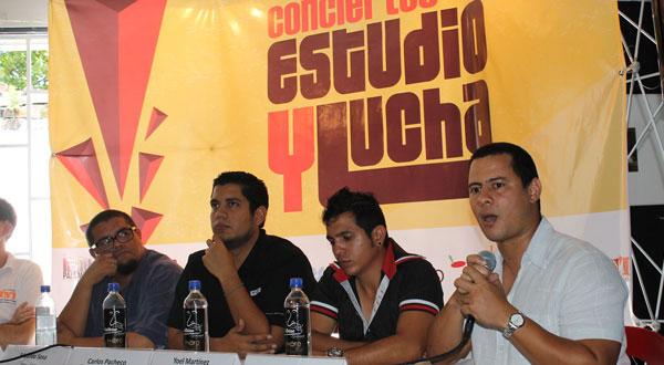 De izquierda a derecha: Eduardo Sosa, Carlos Pacheco, Yoel Martínez e Israel Rojas.