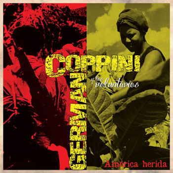 Portada del disco «América herida» de Germán Coppini.