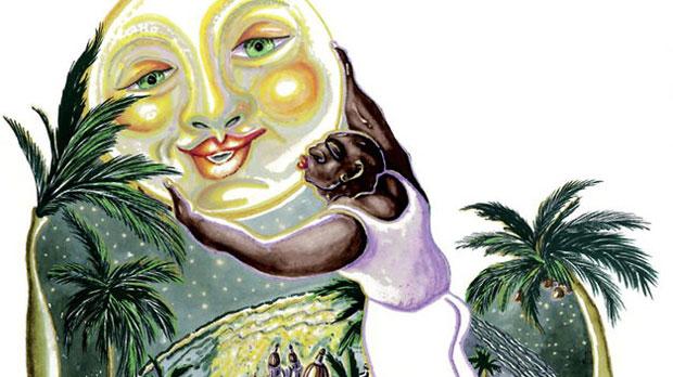Una de las ilustraciones de Roberto S. Terreros que ha servido de portada para el libro «Aute y parte».