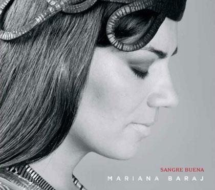 Portada del disco «Sangre buena» de Mariana Baraj.