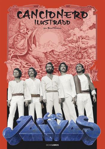Portada del libro «Cancionero ilustrado» de René Olivares.