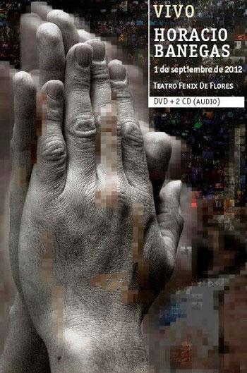 Portada del disco «Vivo» de Horacio Banegas.