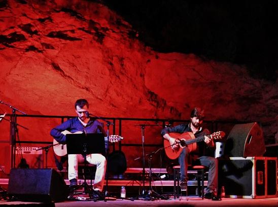 A la guitarra Carles Sanjosé y Chicuelo © Carles Gracia Escarp