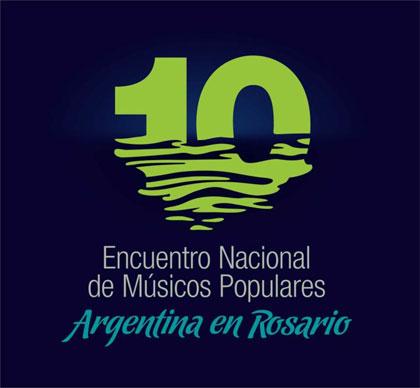 Cartel del 10º Encuentro de Músicos Populares.