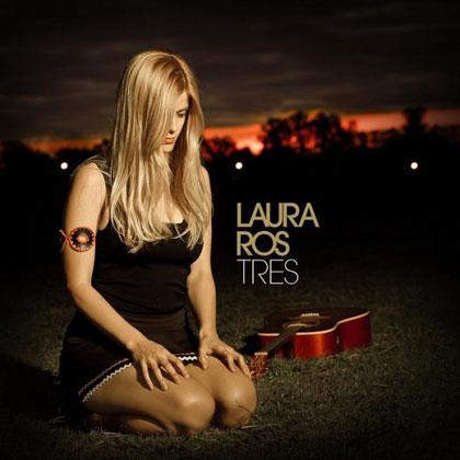 Portada del disco «Tres» de Laura Ros.