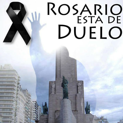 Cartel del concierto «Fuerza Rosario».