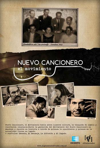 Cartel de la serie «Nuevo Cancionero, el Movimiento».