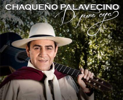 Portada del disco «De pura cepa» de El Chaqueño Palavecino.