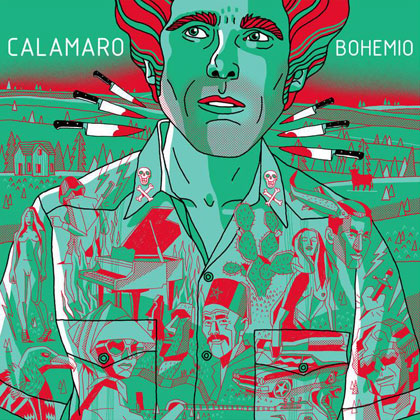 Portada del disco «Bohemio» de Andrés Calamaro.