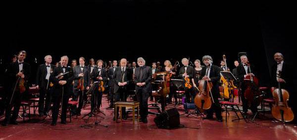La Orquesta Nacional de Música Argentina Juan de Dios Filiberto.