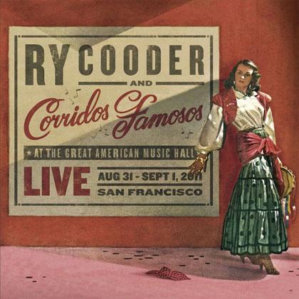 Portada del disco «Live in San Francisco» de Ry Cooder.