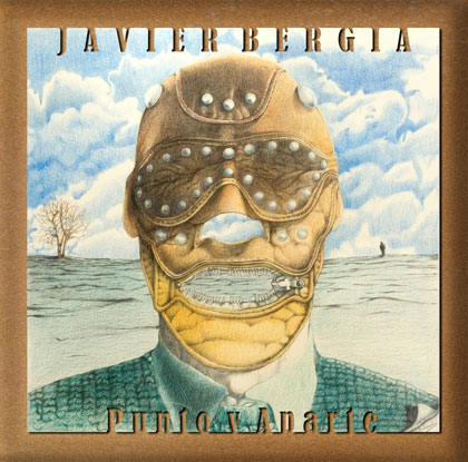 Portada del disco «Punto y Aparte» de Javier Bergia.