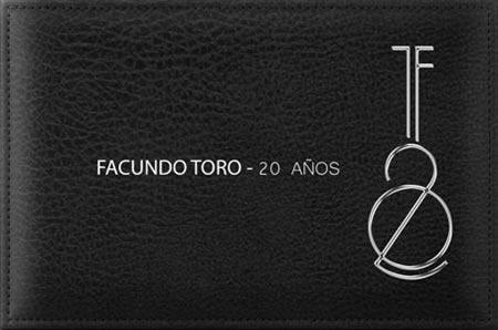 Portada del disco «20 años» de Facundo Toro.